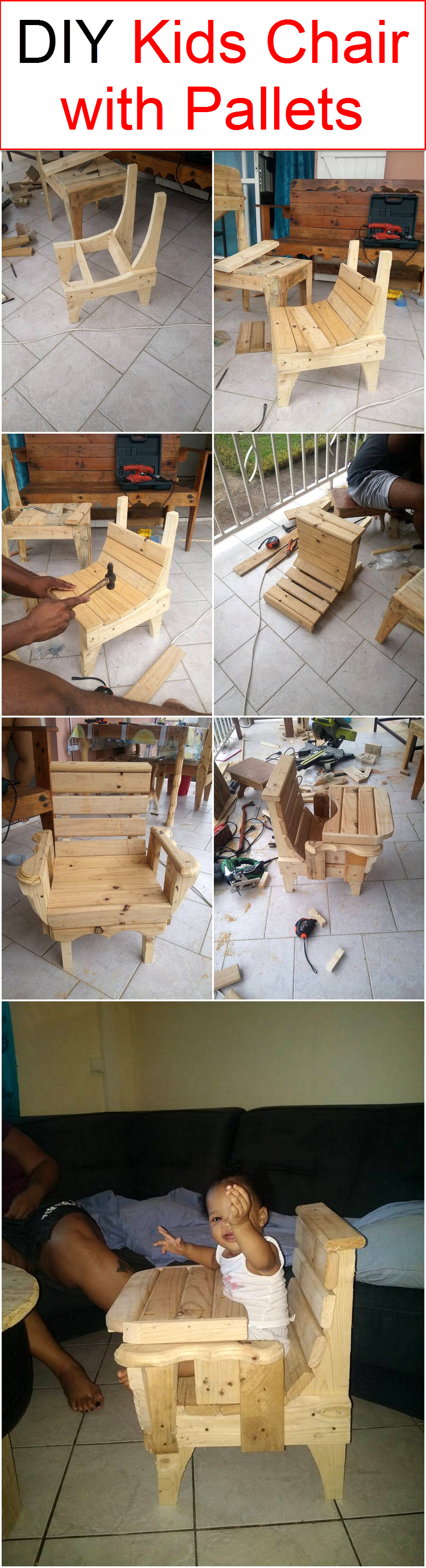 Peachy Diy Kids Chair With Pallets Wood Pallet Furniture Caraccident5 Cool Chair Designs And Ideas Caraccident5Info