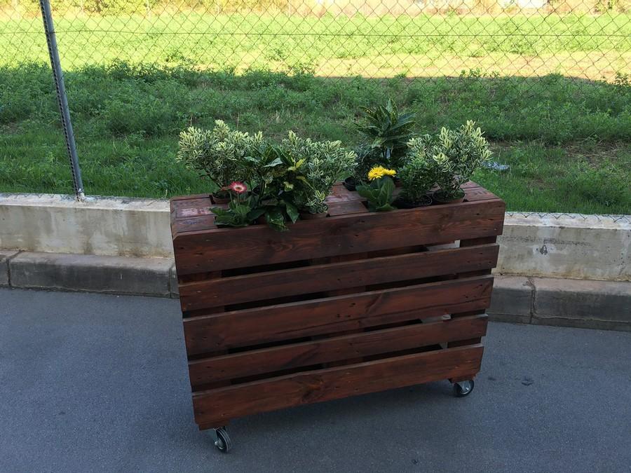 pallets-planter