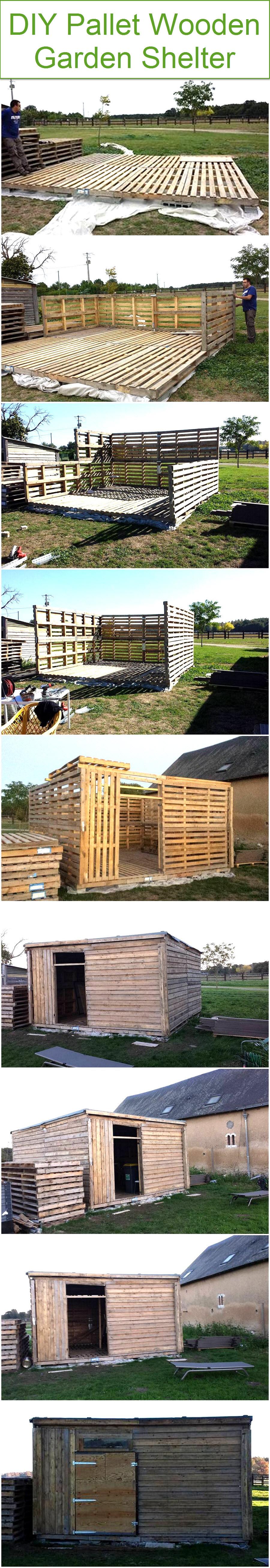 diy-pallet-wooden-garden-shelter