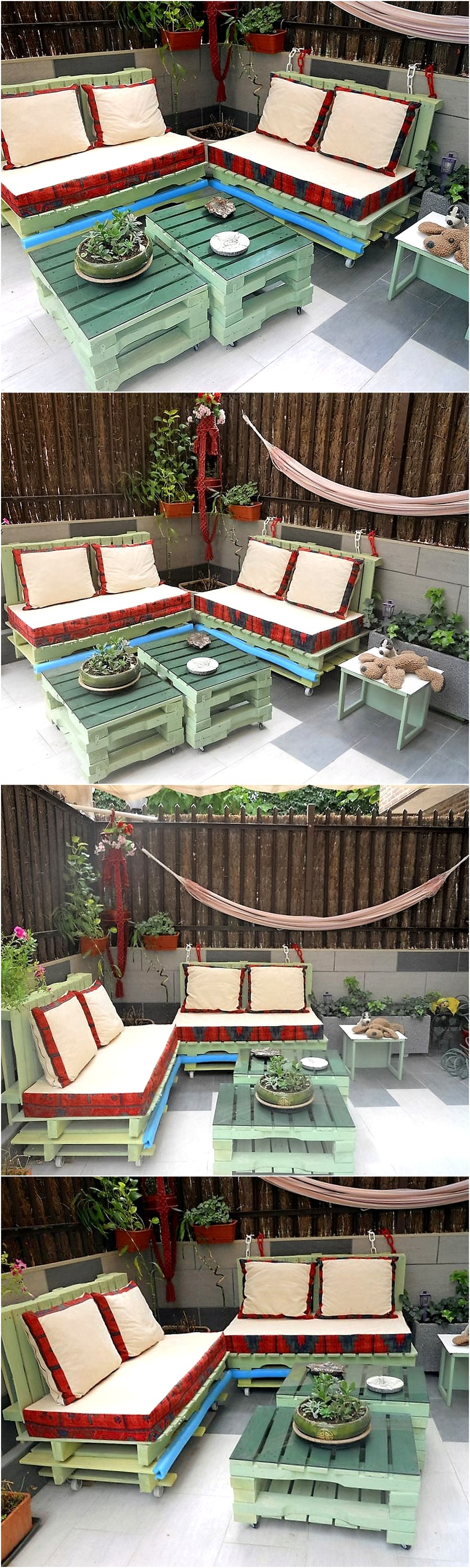stunning-pallet-garden-furniture-set