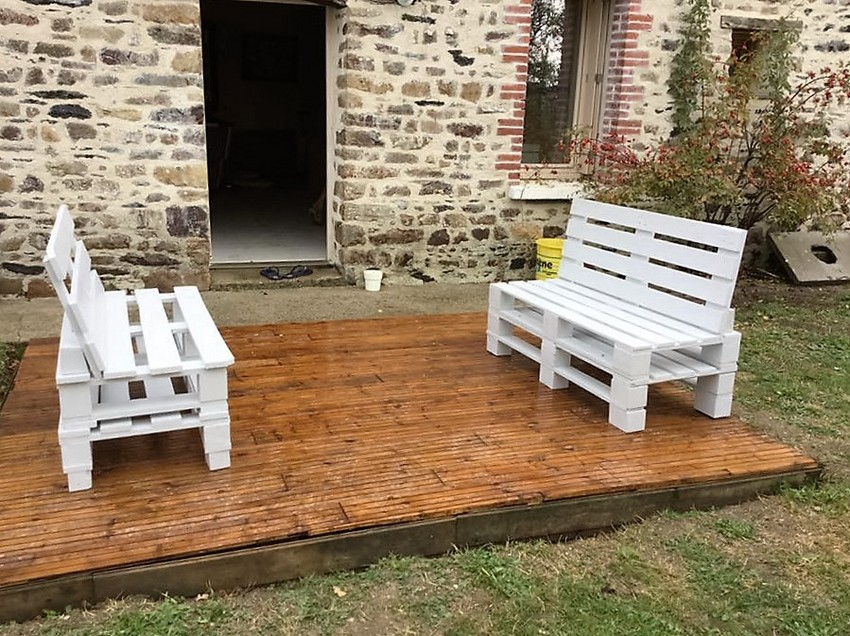 pallet-patio-benches
