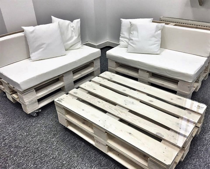 Office Furniture Made With Pallets Wood Pallet Furniture
