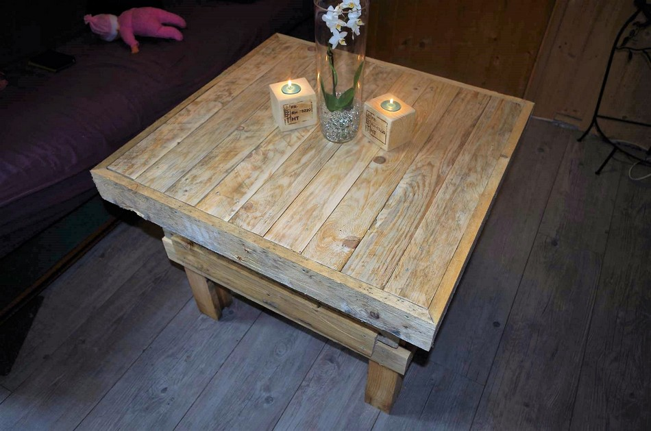 Wood Pallet Recycled Table