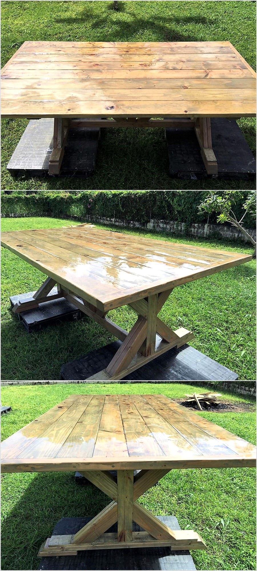 pallets-made-dinning-table