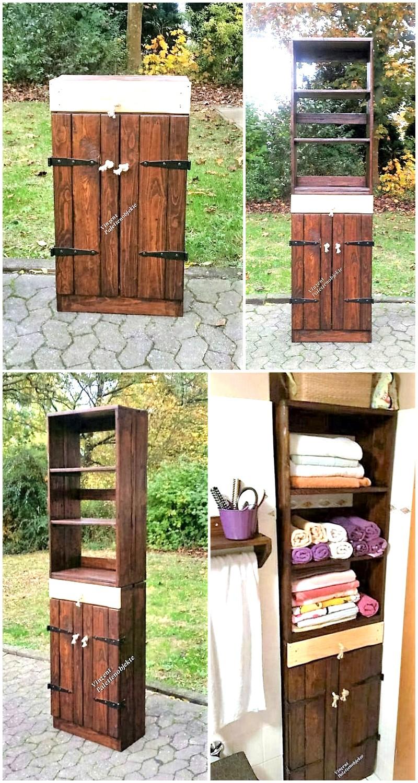 repurposed-pallet-bathroom-storage-cabinet