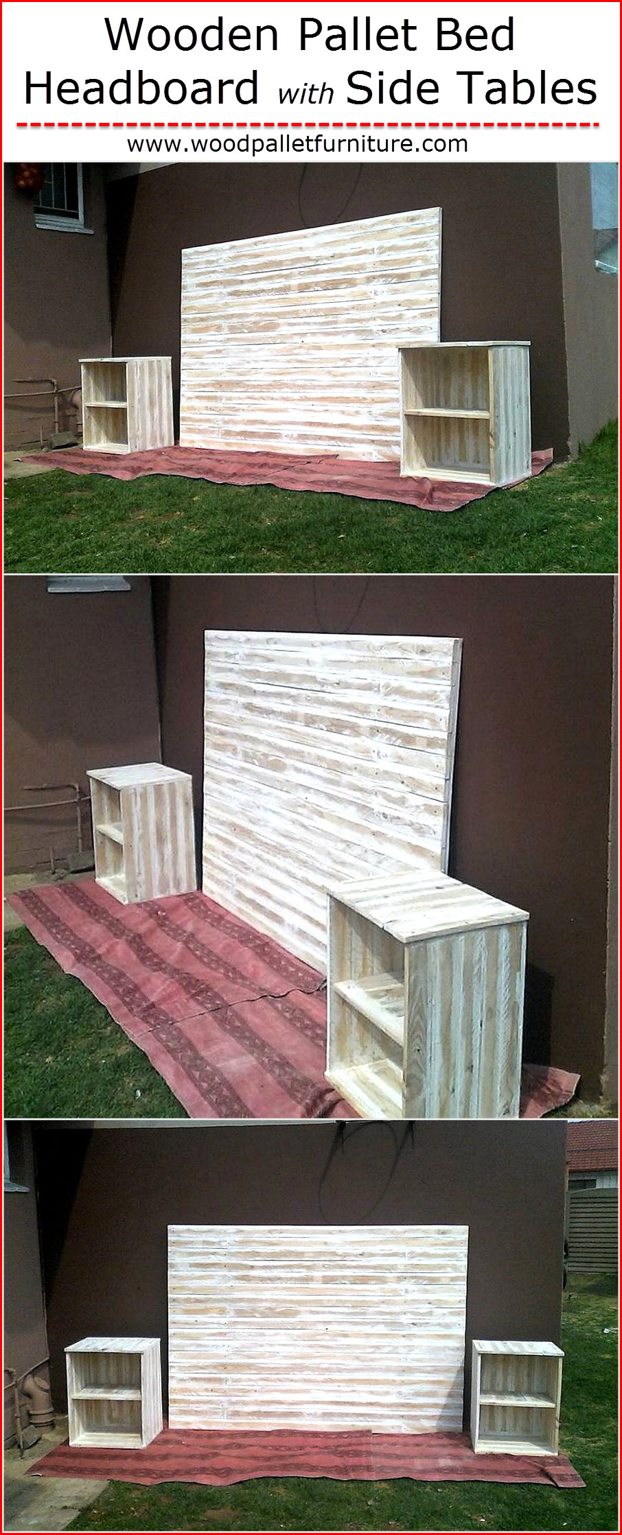 wooden-pallet-bed-headboard-with-side-tables
