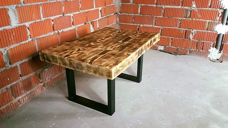 pallet-reclaimed-side-table