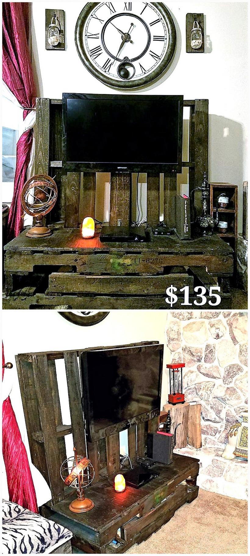 pallet-vintage-tv-stand