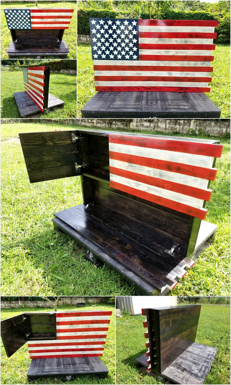 pallets-made-hanging-american-flag-concealment-case