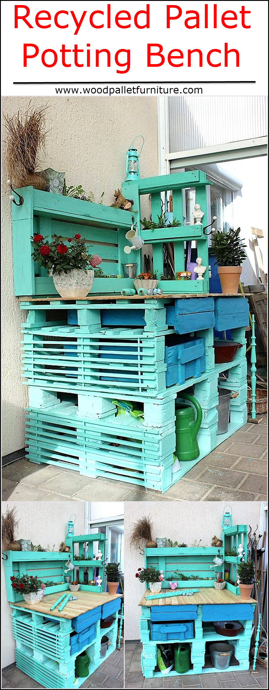 recycled-pallet-potting-bench