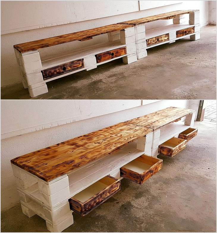 pallet-media-console