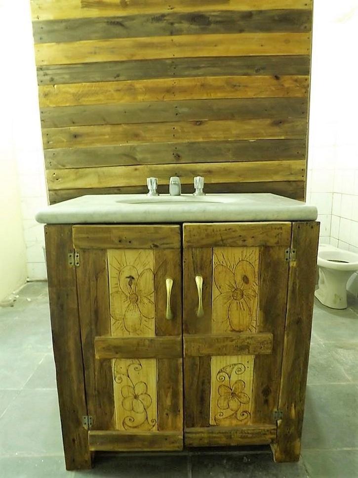 pallet-rustic-look-sink