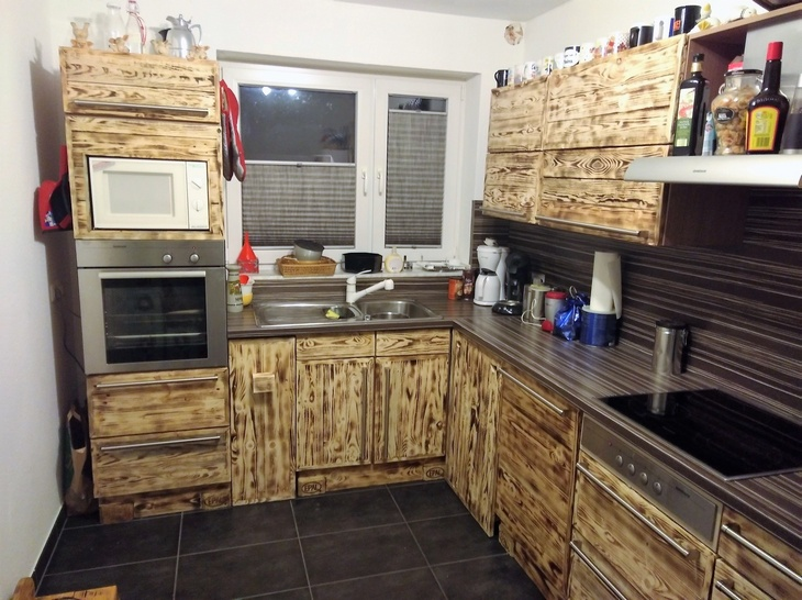 Kitchen Cabinets From Pallets 20 ideas for pallets repurposing | wood pallet furniture