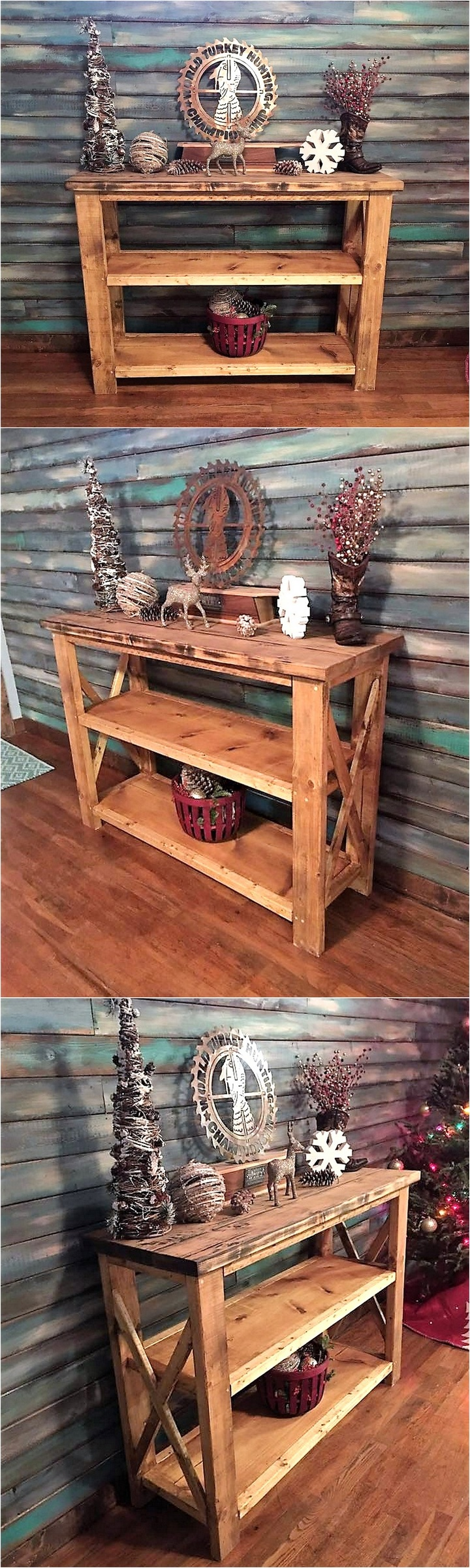 recycled-pallet-side-table