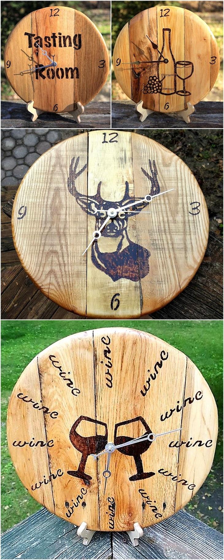 reused-pallet-wood-clocks