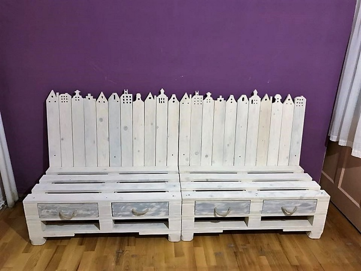 Repurposed Wooden Pallet Furniture Ideas