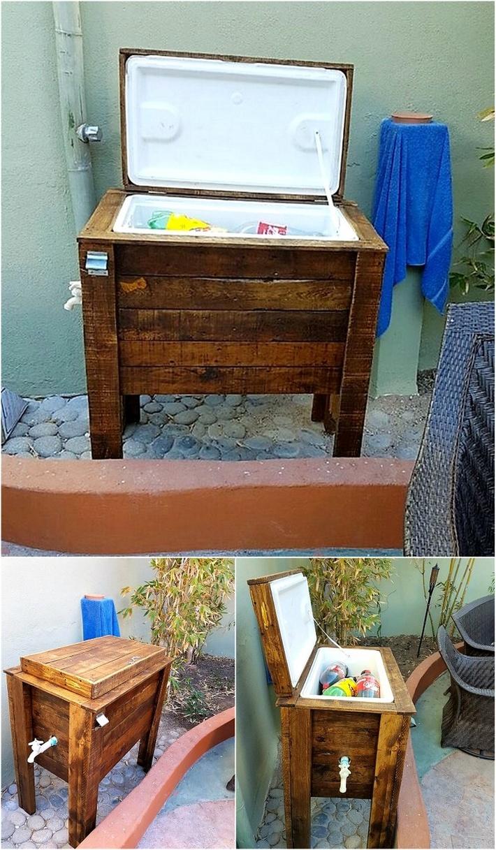 wooden-pallet-cooler