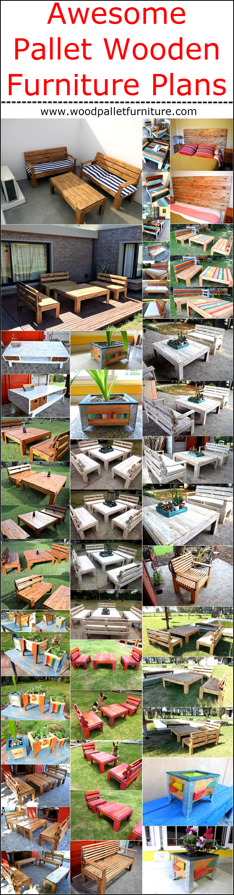 awesome-pallet-wooden-furniture-plans