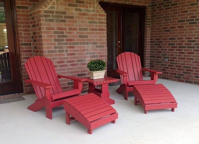 Pallets Adirondack Chairs 3