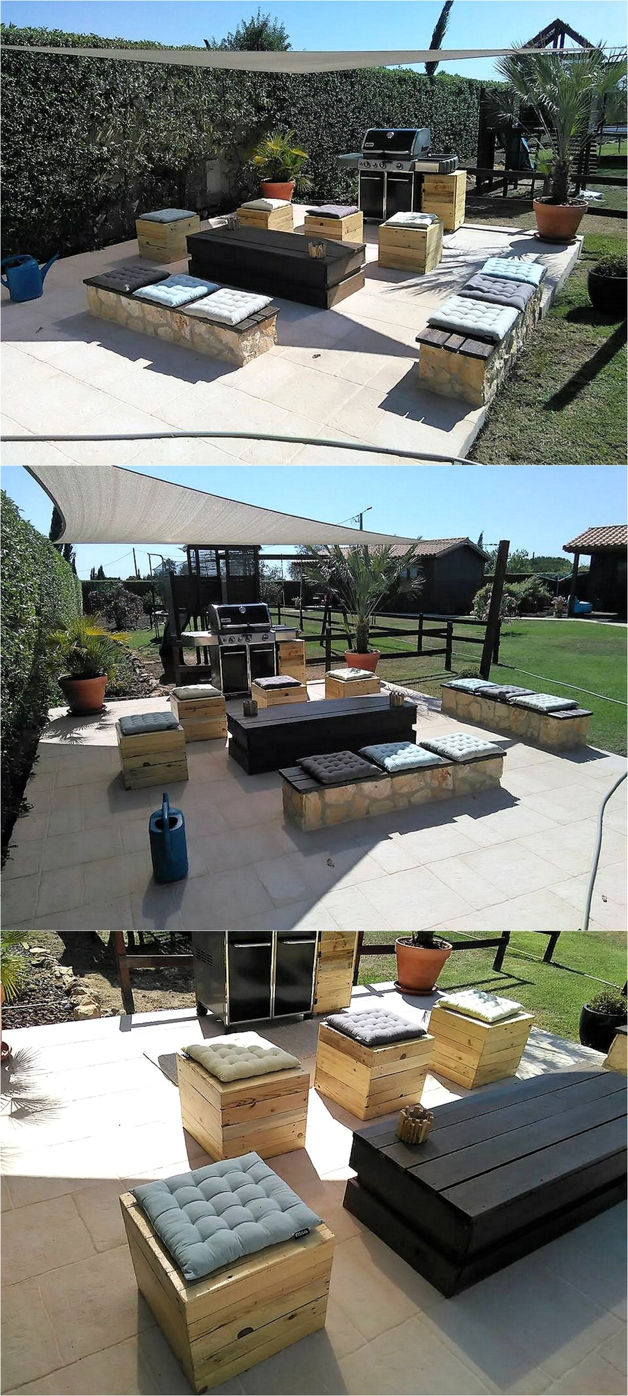 recycled-pallets-garden-barbecue-zone