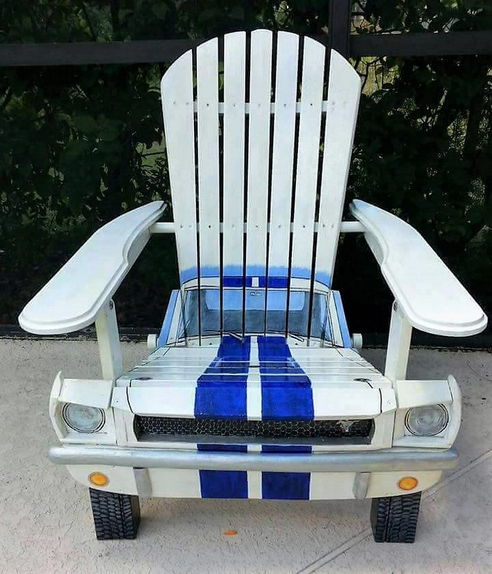 pallet artistic chair