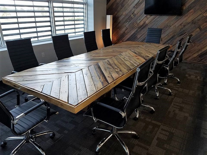 pallet conference table