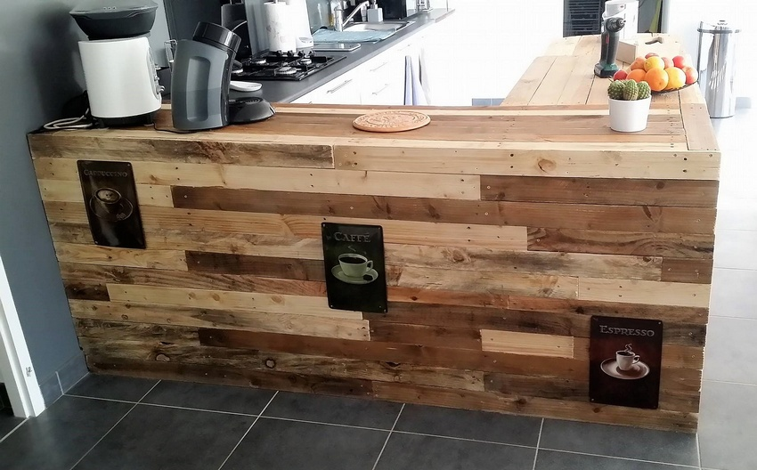 pallet wood kitchen works