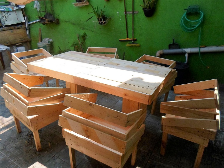 Pallet furniture ideas wood pallet projects and diy for Pallet furniture projects