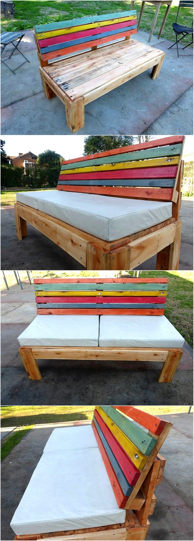 recycled-pallet-garden-bench