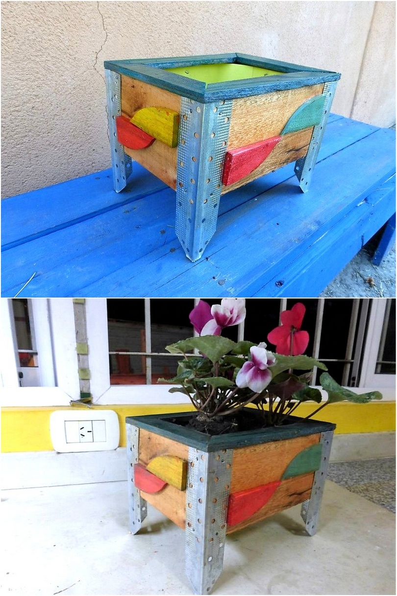 recycled-pallet-planter