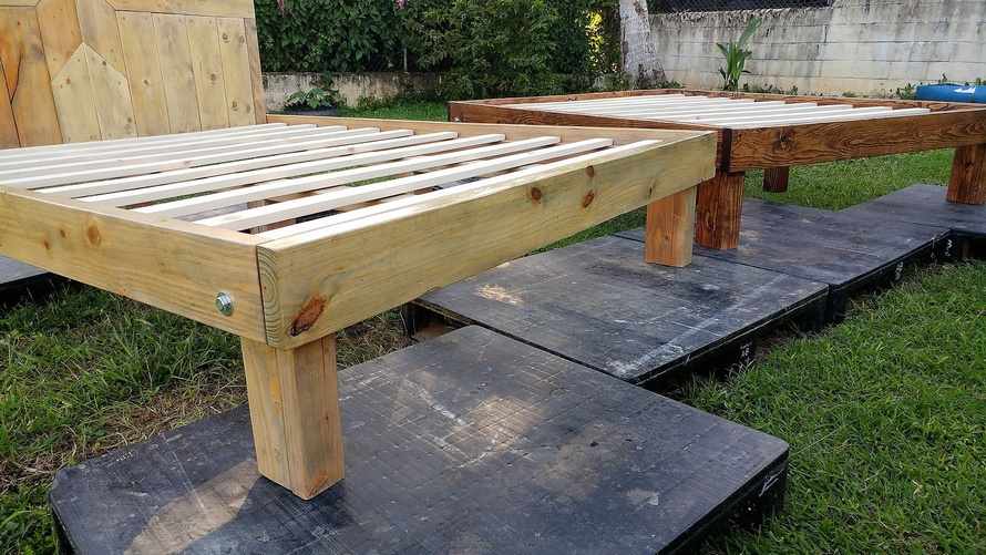 Cheap Used Queen Bed Frames