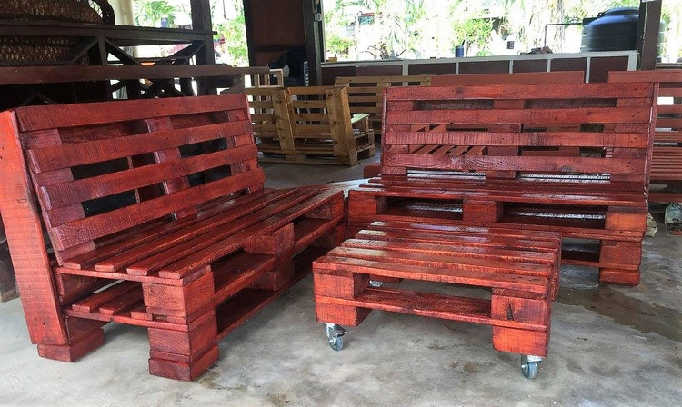 pallt outdoor furniture plan recycled pallet bench wooden pallet bench - Garden Furniture Wooden Pallets