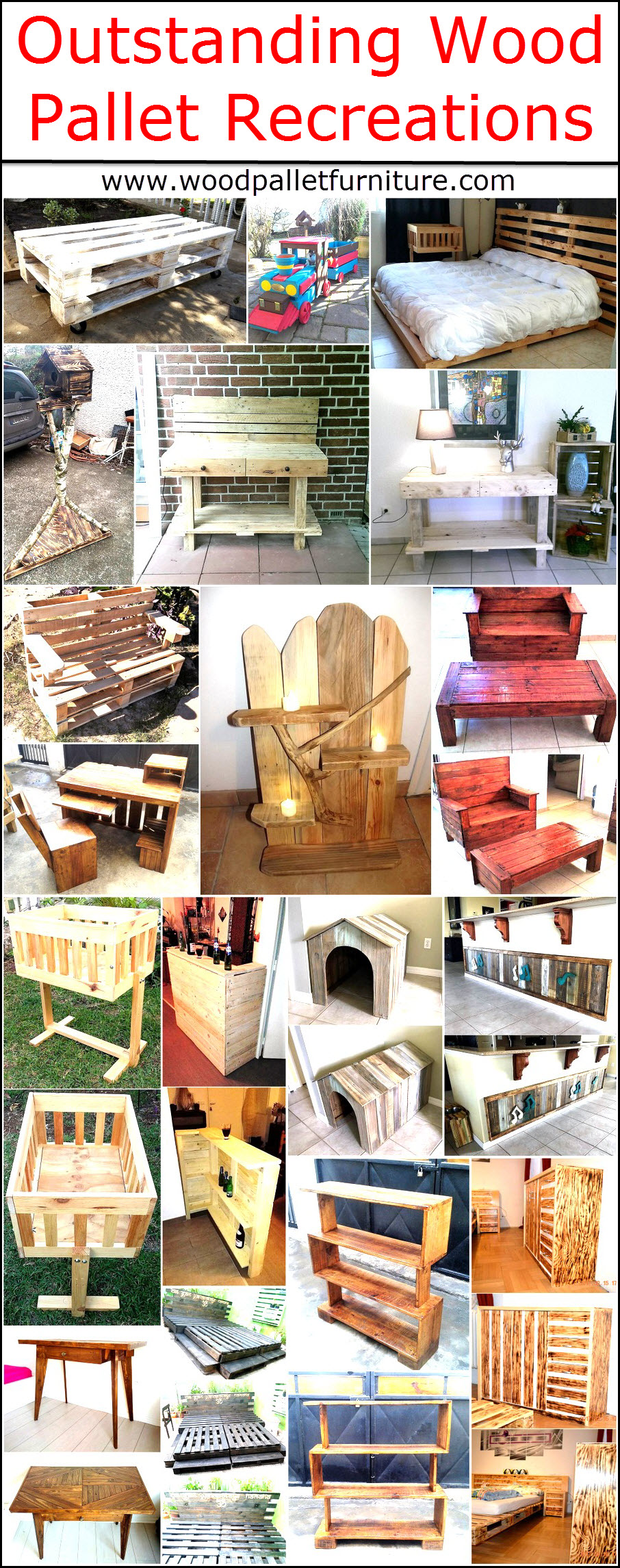 Outstanding Wood Pallet Recreations