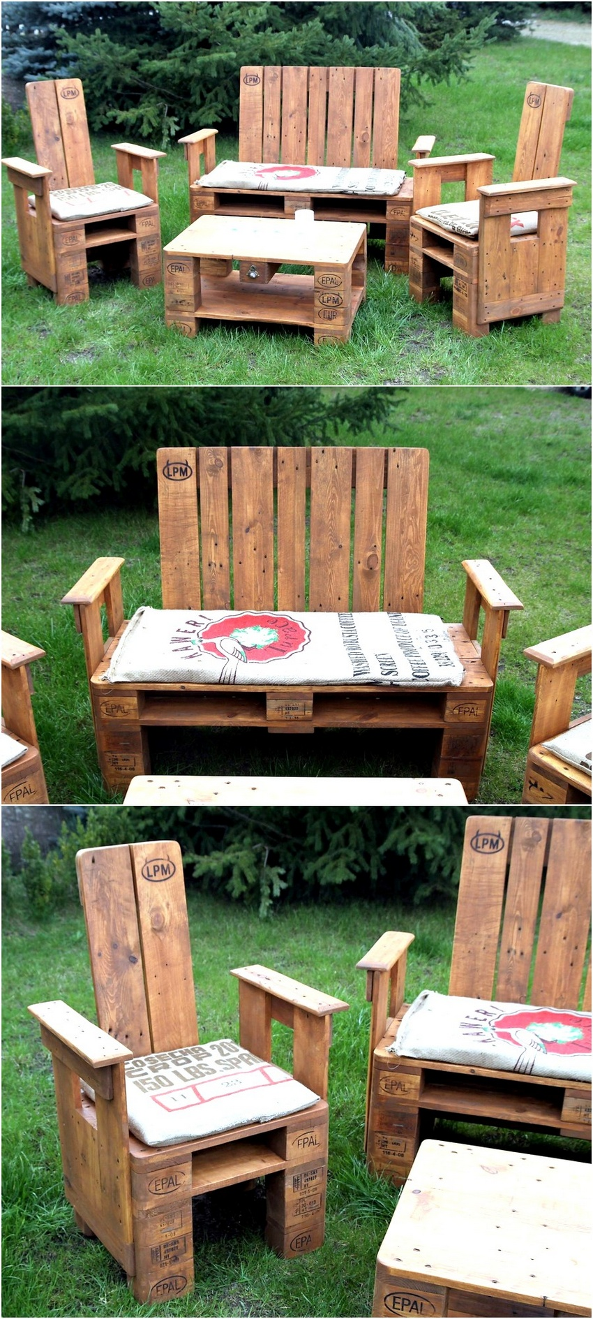 Creative Pallet Recycling Ideas By Lucie 39 S Palettenm Bel Wood Pallet Furniture Part 2