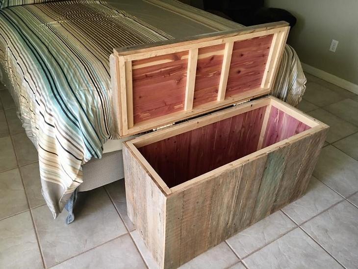 pallet storage chest 2