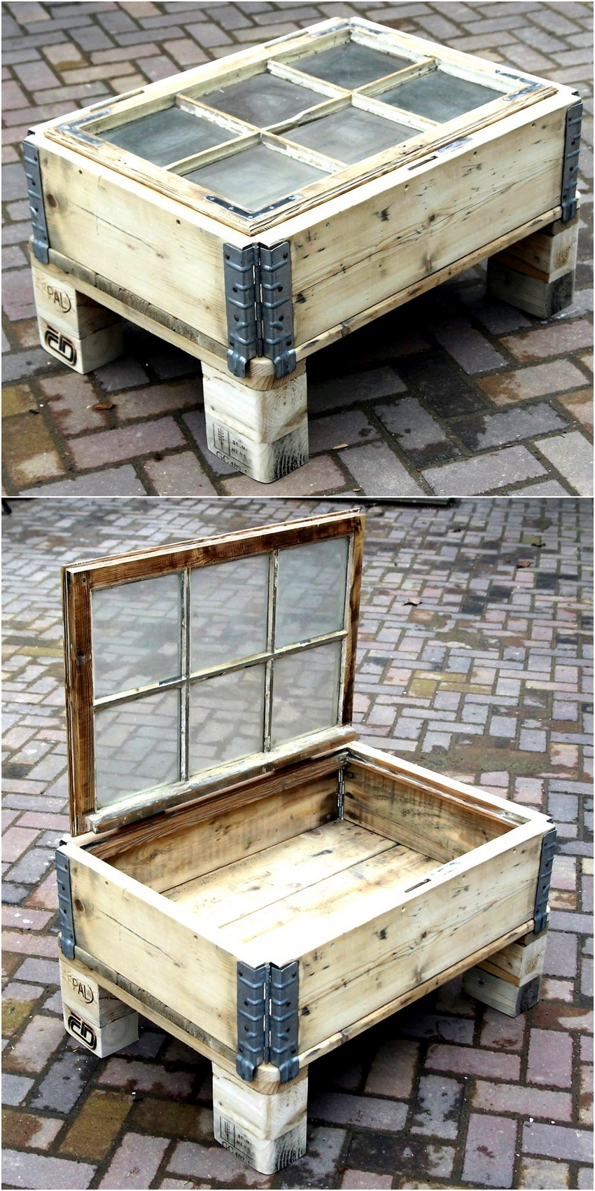 Creative Pallet Recycling Ideas by Lucie's Palettenmöbel ... on Pallets Design Ideas  id=25216