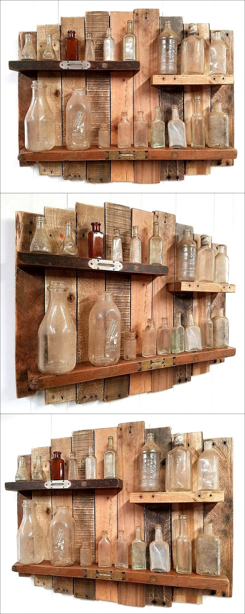 pallets Rustic and Vintage Shelf