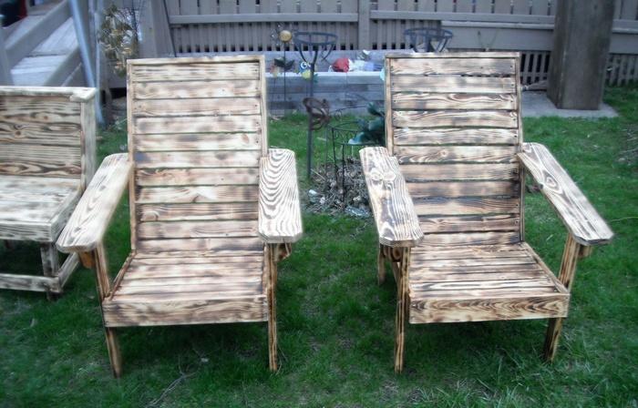 pallets chair idea