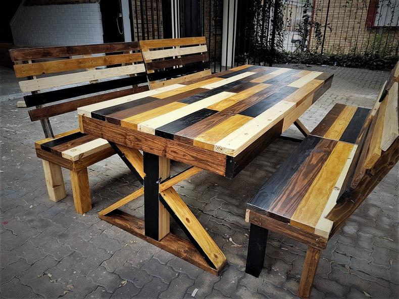 pallets dinning table set