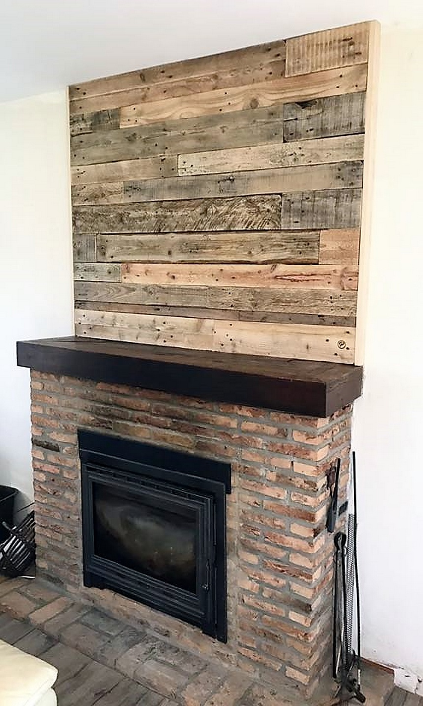 pallets made wall art