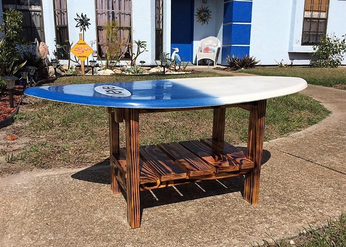 pallets table project