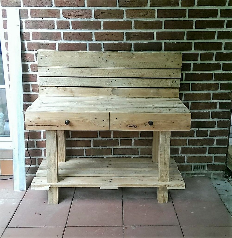 pallets wood table ideas