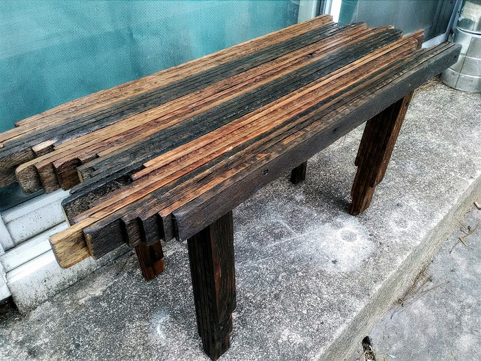pallets wooden table plan