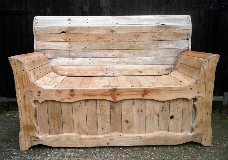 Rustic Look Pallet Creations by P B Woodcraft