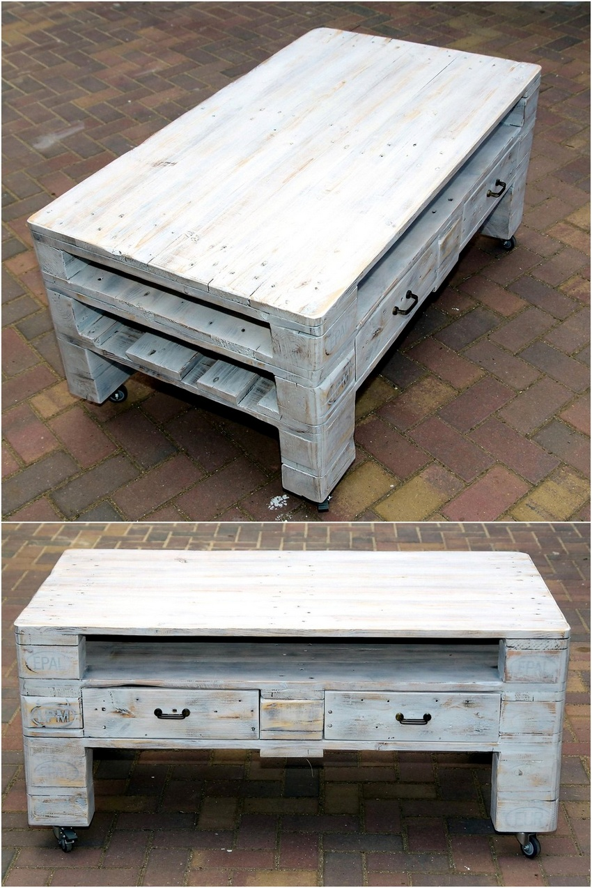 creative pallet recycling ideas by lucie 39 s palettenm bel wood pallet furniture part 3. Black Bedroom Furniture Sets. Home Design Ideas