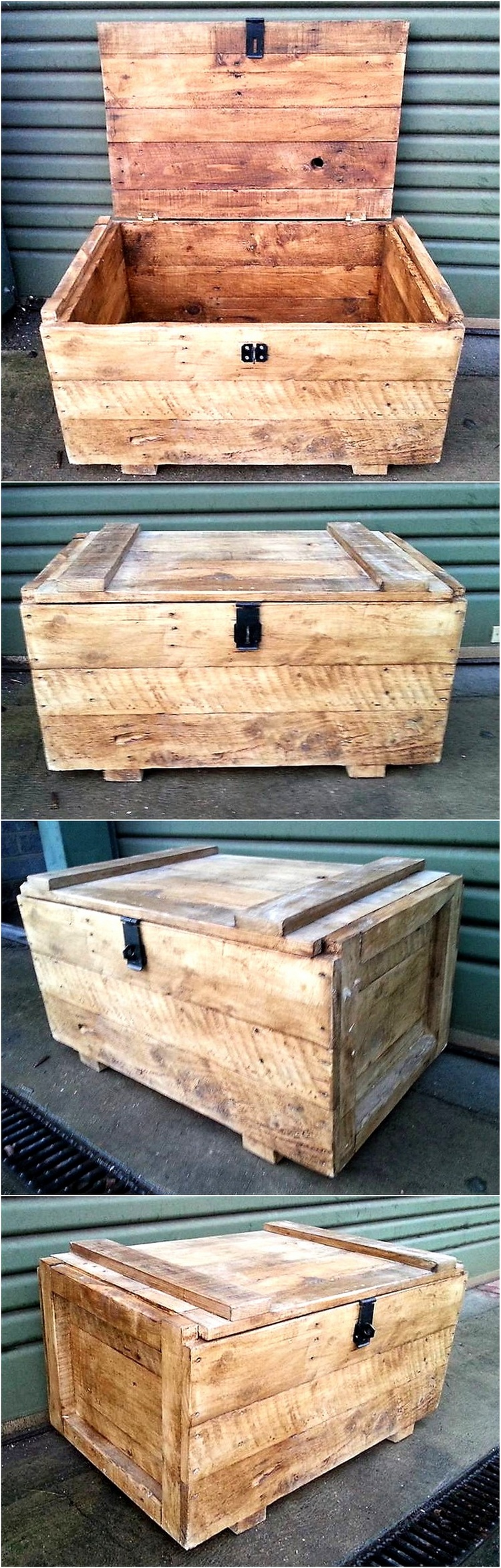 Rustic look pallet creations by p b woodcraft wood