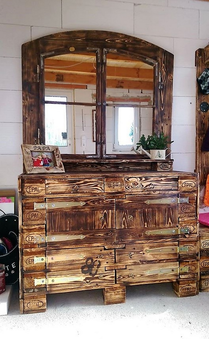 wood pallet kitchen island