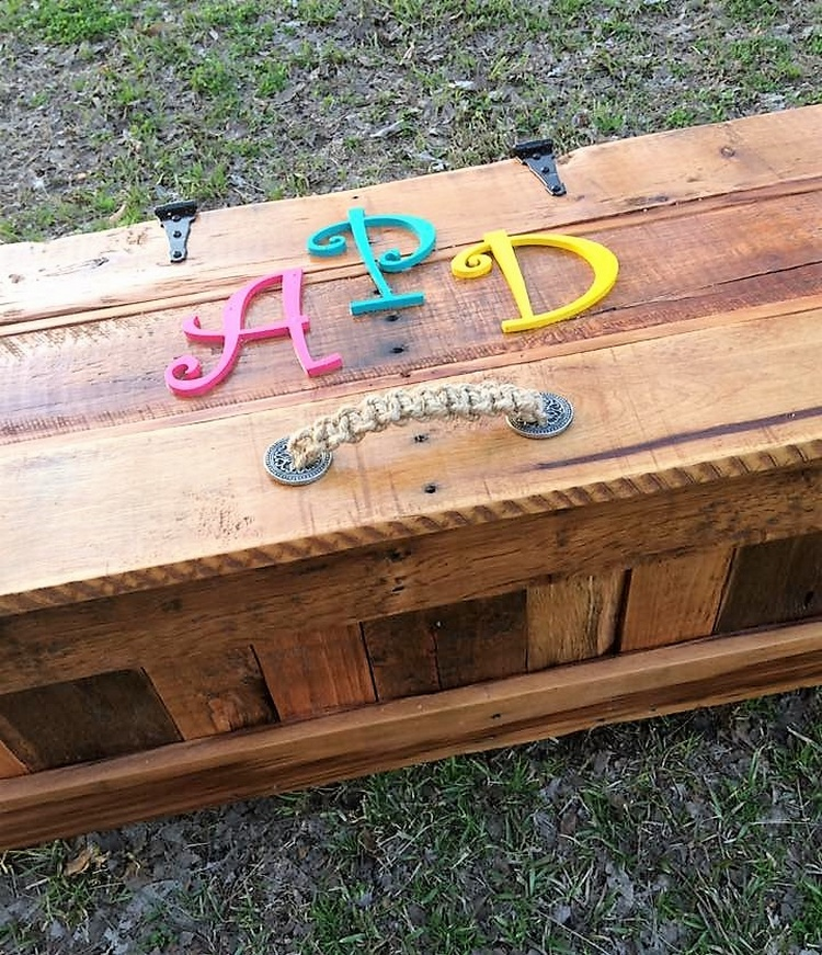 wood pallet toy box