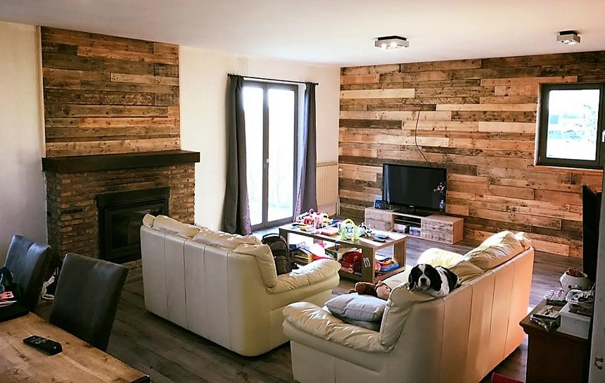 wooden pallet wall art