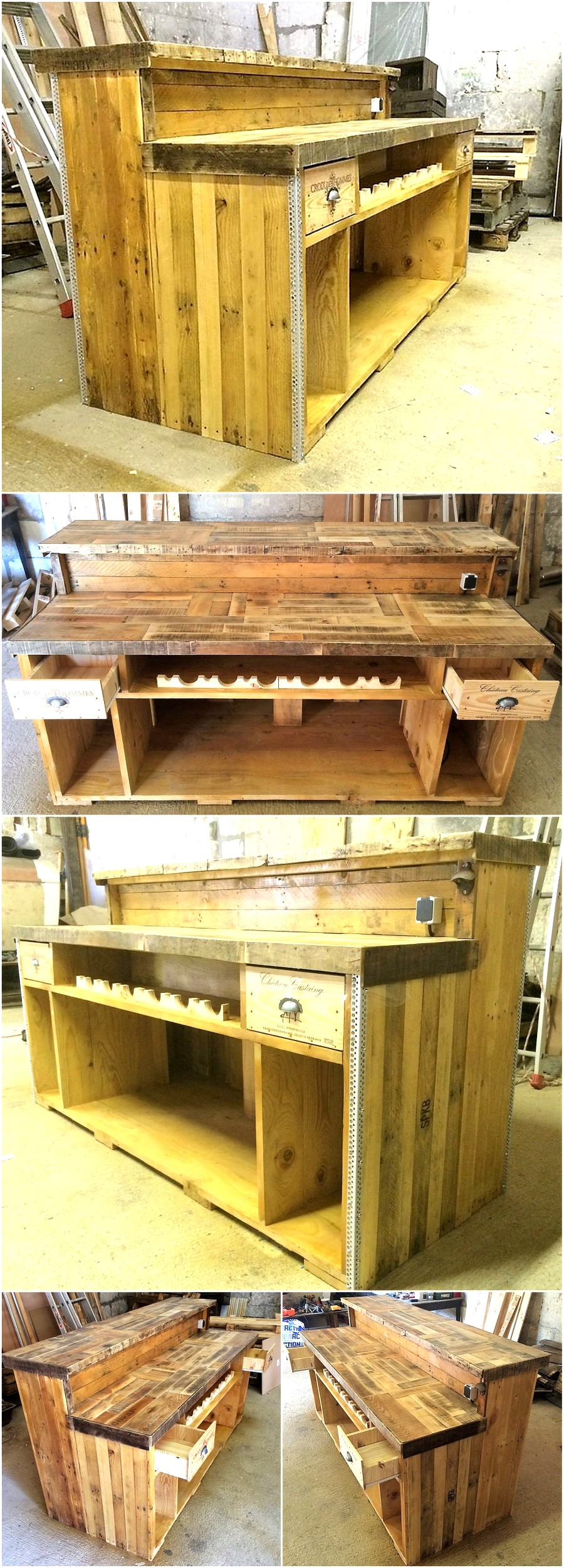 Awesome Plan for Wooden Pallet Bar